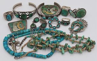 JEWELRY. Assorted Grouping of Southwest Jewelry.