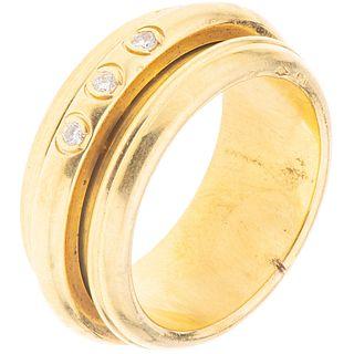 DIAMOND RINGS. 18K YELLOW GOLD. PIAGET