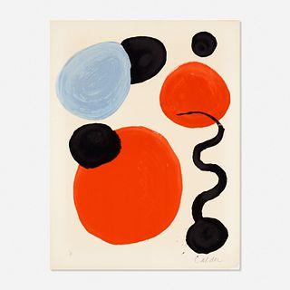 Alexander Calder, Composition