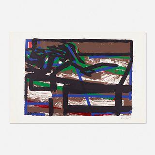 Frank Auerbach, Reclining Figure II