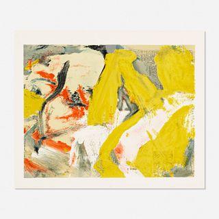 Willem de Kooning, Man and The Big Blonde
