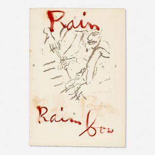 Willem de Kooning, Untitled (Rainbow)