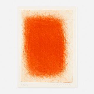 Arnulf Rainer, Untitled (Red)