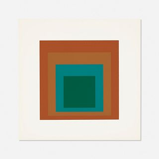 Josef Albers, Reserved (from Homage to the Square: Ten Works by Josef Albers)