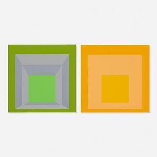 Josef Albers, Folio II / Folder 17 (from the Formulation : Articulation portfolio)