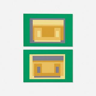 Josef Albers, Folio II / Folder 29 (from the Formulation : Articulation portfolio)