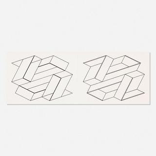 Josef Albers, Folio II / Folder 21 (from the Formulation : Articulation portfolio)