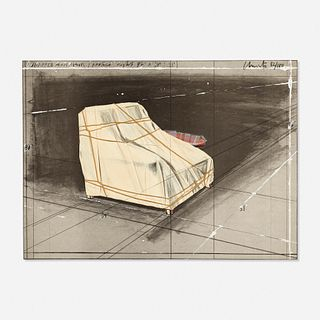Christo and Jeanne-Claude, Wrapped Armchair Project