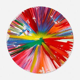 Damien Hirst, Circle Spin Painting
