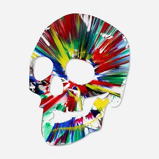 Damien Hirst, Skull Spin Painting