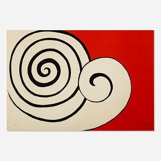 Alexander Calder, Deux Spirales