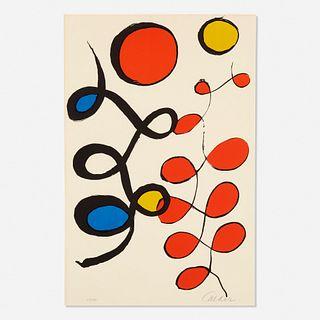 Alexander Calder, Untitled (Swirls)