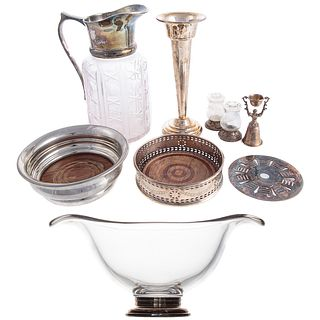 Collection Sterling & Plated Tableware