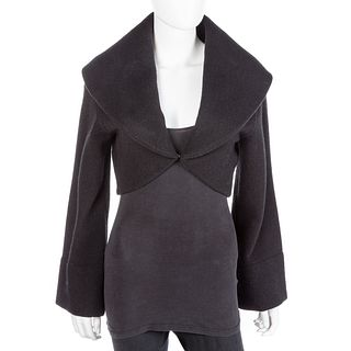 Ralph Lauren Purple Label Black Bolero Jacket