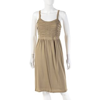 Burberry Khaki Knit Dress