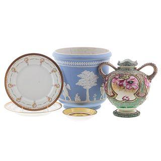 Five Assorted Ceramic Articles