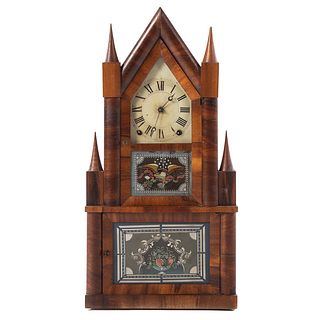 Terry & Andrews Double Steeple Clock