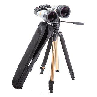 Celestron Spy Master Binoculars & Tripod