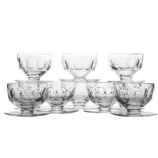 10 Waterford Crystal Dessert Bowls