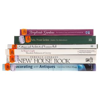 Six Volumes on Gardens & Exterior Decorating
