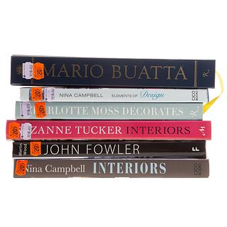 Six Volumes on Interior Decorating