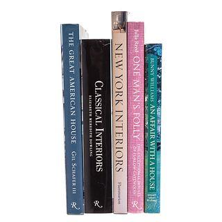 Five Volumes on Interior Decorating
