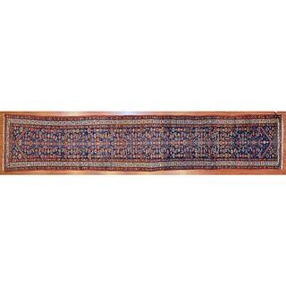 Antique Hamadan Runner, Persia, 3.1 x 15.7