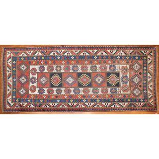 Antique Caucasian Rug, Caucasus, 4.1 x 9.7