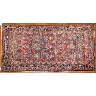 Semi Antique Bijar Rug, 4.6 x 8.1