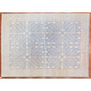 Contemporary Rug, India, 10 x 13.8