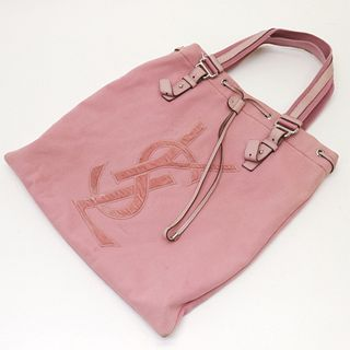 Yves St-Laurent - Logo Shopping Tote