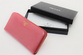 Prada - Large Saffiano Leather Wallet