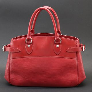 Louis Vuitton - Red Epi Leather Passy