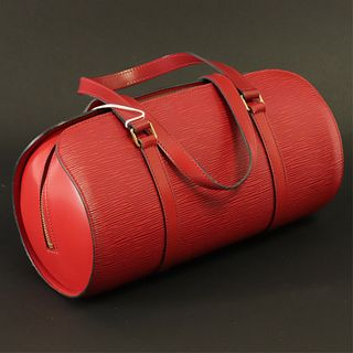 Louis Vuitton - Red Epi Leather Soufflot