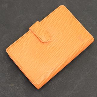 Louis Vuitton - Mandarine Epi Leather French Purse