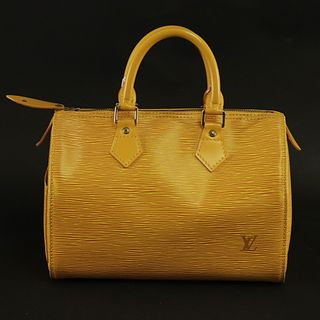 Louis Vuitton - Yellow Epi Leather Speedy 25