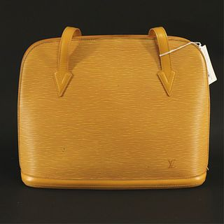 Louis Vuitton - Yellow Epi Leather Lussac