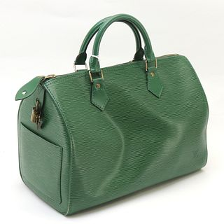 Louis Vuitton - Green Epi Leather Sppedy 30