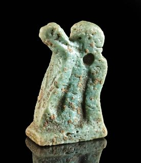Egyptian Faience Amulet - Uraeus
