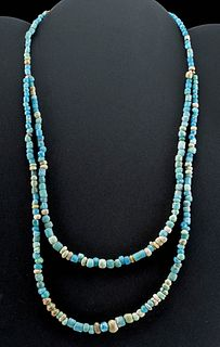 Romano-Egyptian Glass Bead Necklace