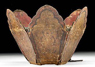 18th C. Tibetan Lama Ringa w/ Bodhisattvas