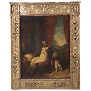 Attrib. to Pierre-Paul Prud'hon. Napoleon and Son
