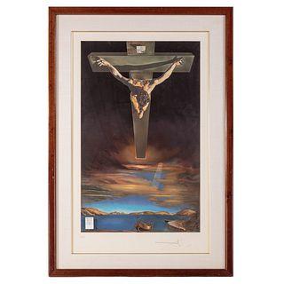 "Salvador Dali. ""Christ St. John on the Cross"""
