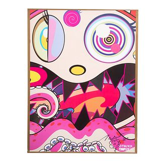 Takashi Murakami. ComplexCon, signed poster