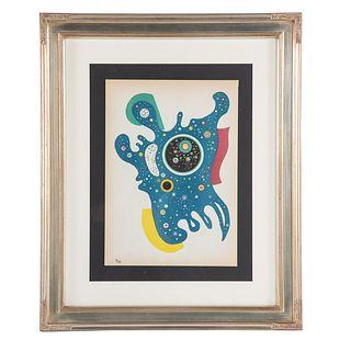 "Wassily Kandinsky. ""Stars,"" lithograph"