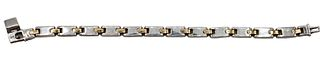 18K and Sterling Silver Tiffany & Co. Bracelet