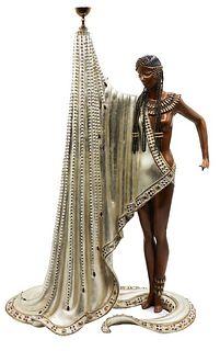 "Erte (1892-1990) Bronze Sculpture, ""The Slave"""