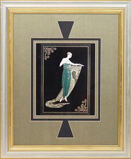 Erte (1892-1990) Emerald Night