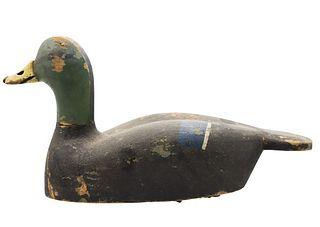 H.D. Wooden Decoy Mallard Duck