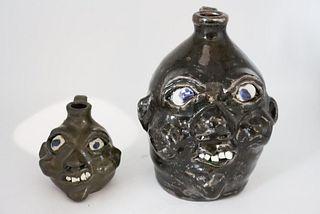 Grace Hewell Face jugs